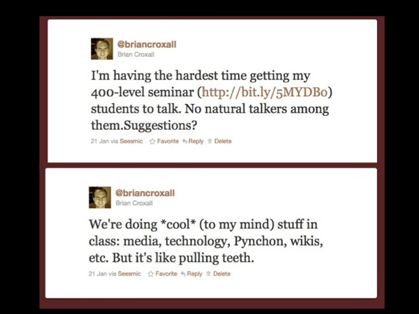 Tweets about my class