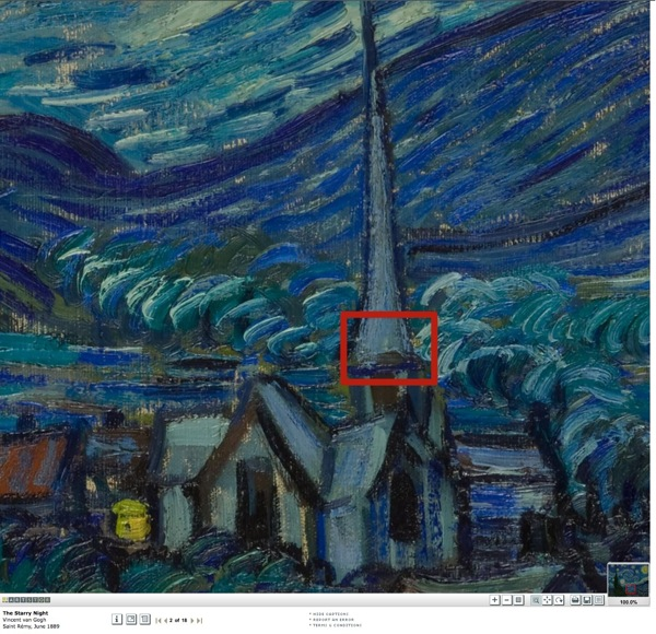 Starry night artstor