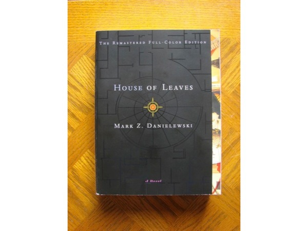 Photograph of the novel, House of Leaves