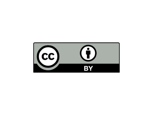 Creative Commons BY license logo