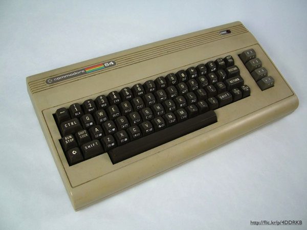 A Commodore 64 keyboard