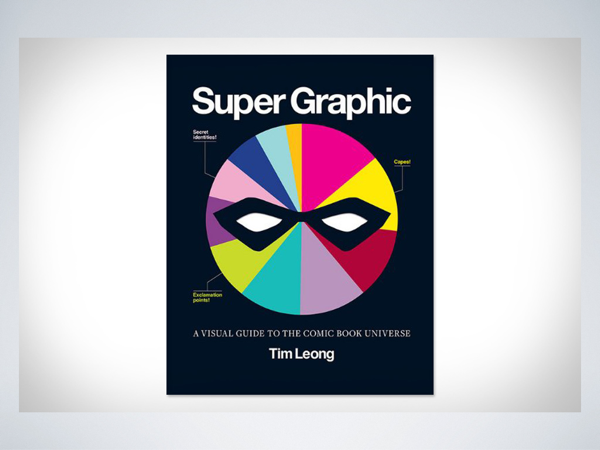 The cover of the book *Super Graphic*