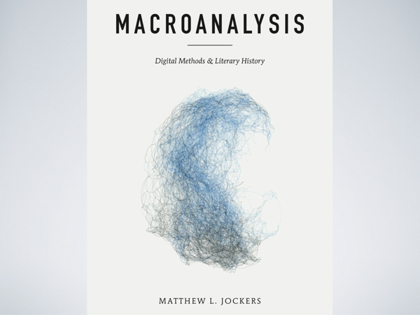 The cover of *Macroanalysis* by Matthew L. Jockers