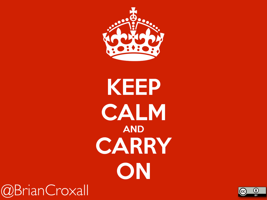 Keep Calm And Carry On: Finding And Building PhD Career Paths